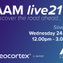 AAM Live 2021 save the date